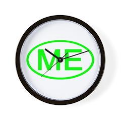 ME Oval - Maine Wall Clock