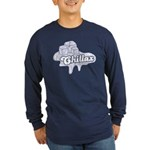 Chillax Long Sleeve Dark T-Shirt