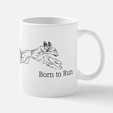 Born to Run - Saluki Mug