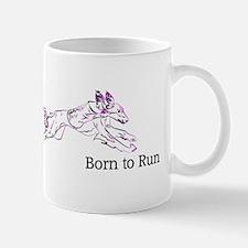 Born to Run Violet Mug