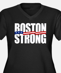 Boston Strong Plus Size T-Shirt