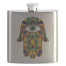 Hamsa Hand 3 Flask
