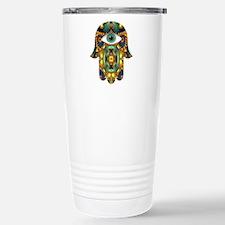 Hamsa Hand 3 Travel Mug