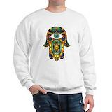 Hamsa Crewneck Sweatshirts