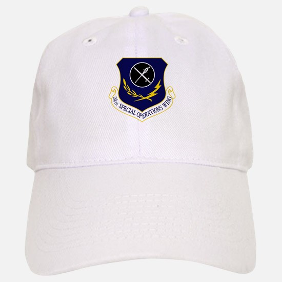 24th SOW Baseball Baseball Cap