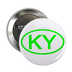 "KY Oval - Kentucky 2.25"" Button (100 pack)"