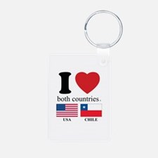 USA-CHILE Keychains