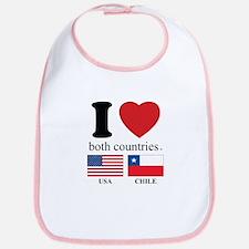 USA-CHILE Bib