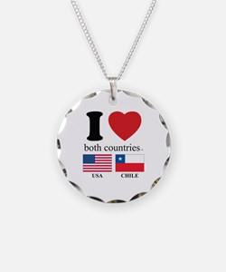 USA-CHILE Necklace