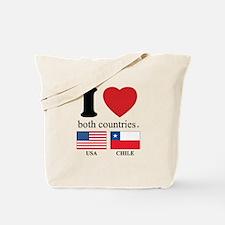 USA-CHILE Tote Bag