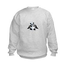 little panda angel Sweatshirt