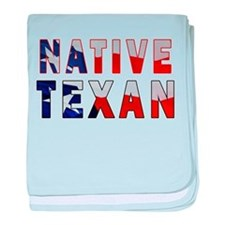 Native Texan Flag baby blanket