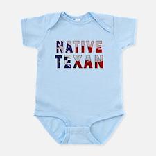 Native Texan Flag Infant Bodysuit
