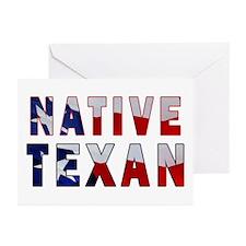 Native Texan Flag Greeting Cards (Pk of 20)