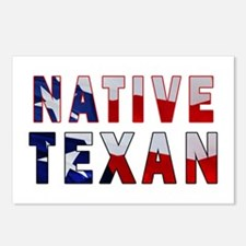 Native Texan Flag Postcards (Package of 8)
