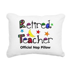 Retired teacher CP nap pillow Rectangular Canvas P