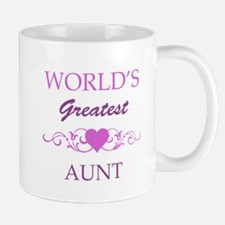 World's Greatest Aunt (purple) Mug