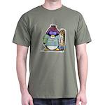 SnowBoard Penguin Dark T-Shirt