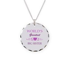 World's Greatest Big Sister (purple) Necklace