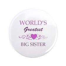 "World's Greatest Big Sister (purple) 3.5"" Button"