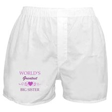 World's Greatest Big Sister (purple) Boxer Shorts
