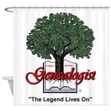 The Legend Lives On Shower Curtain