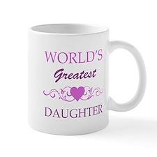 World's Greatest Daughter (purple) Mug