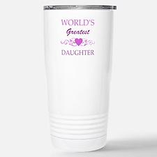 World's Greatest Daughter (purple) Stainless Steel