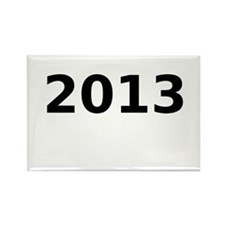 2013 Rectangle Magnet