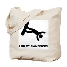 Snow Boarding, Snowboard Stunts Tote Bag