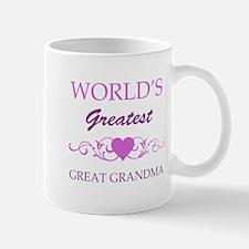 World's Greatest Great Grandma (purple) Mug