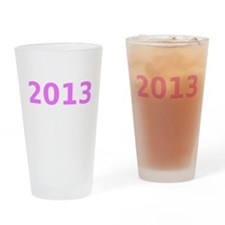 2013 Drinking Glass