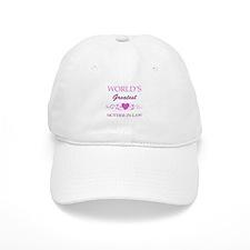 World's Greatest Mother-In-Law (purple) Baseball Cap