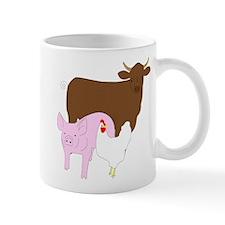 Cow Pig Chicken Mug