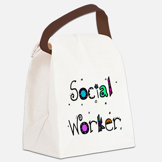 social worker PILLOW 2 Canvas Lunch Bag