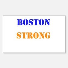 Boston Strong Print Decal