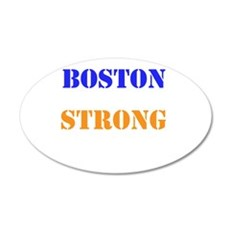 Boston Strong Print Wall Decal