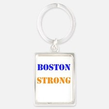 Boston Strong Print Keychains