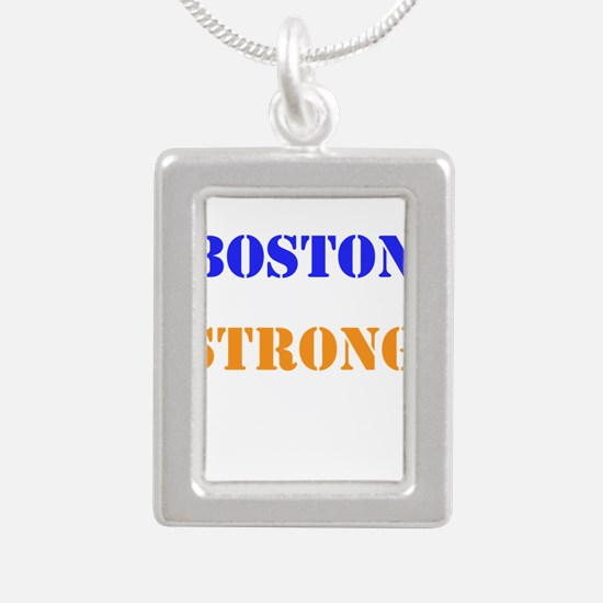 Boston Strong Print Necklaces