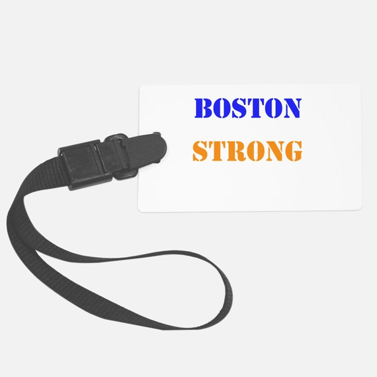 Boston Strong Print Luggage Tag