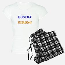 Boston Strong Print Pajamas