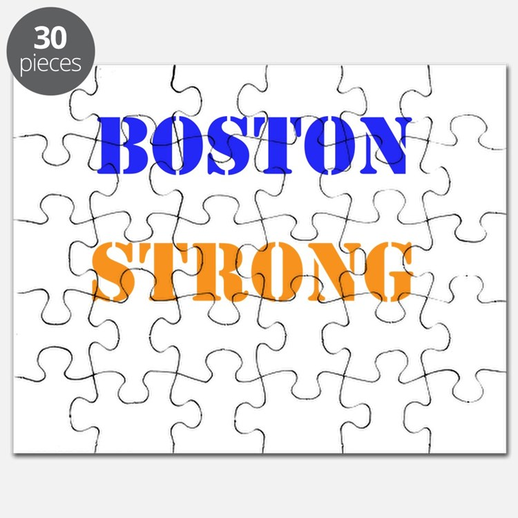 Boston Strong Print Puzzle