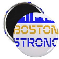 "Boston Strong Skyline Multi-Color 2.25"" Magnet (10"