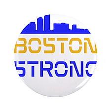 "Boston Strong Skyline Multi-Color 3.5"" Button"