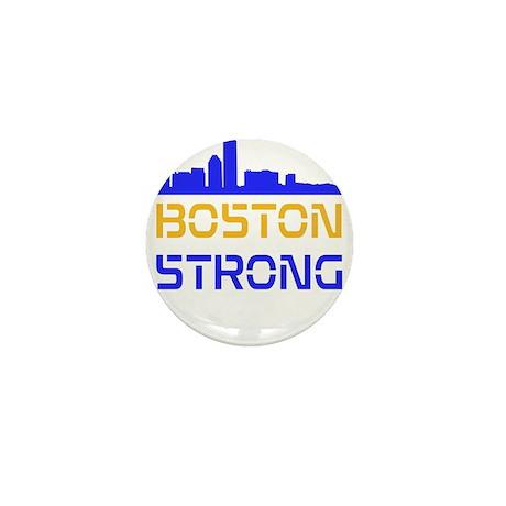 Boston Strong Skyline Multi-Color Mini Button (10