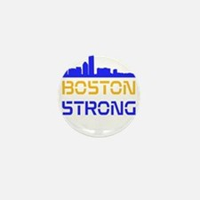 Boston Strong Skyline Multi-Color Mini Button