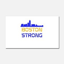 Boston Strong Skyline Multi-Color Car Magnet 20 x