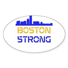 Boston Strong Skyline Multi-Color Decal
