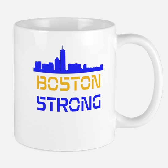 Boston Strong Skyline Multi-Color Mug