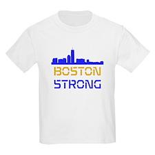 Boston Strong Skyline Multi-Color T-Shirt